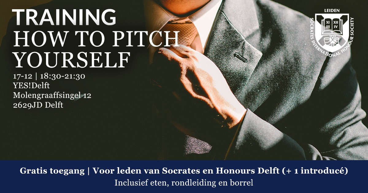 Pitchtraining YES!Delft