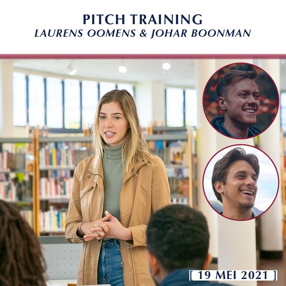 Pitch-training met Laurens Oomens & Johar Boonman