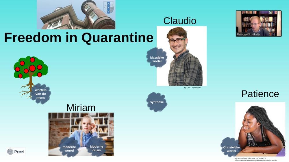 Lezing Freedom in Quarantine