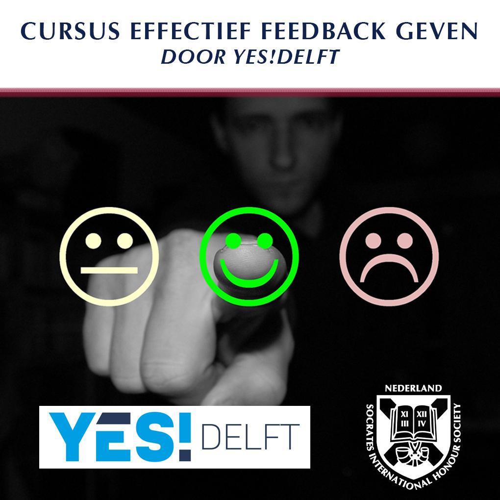 YES!Delft Deel #2: Positief en Effectief Feedback Geven