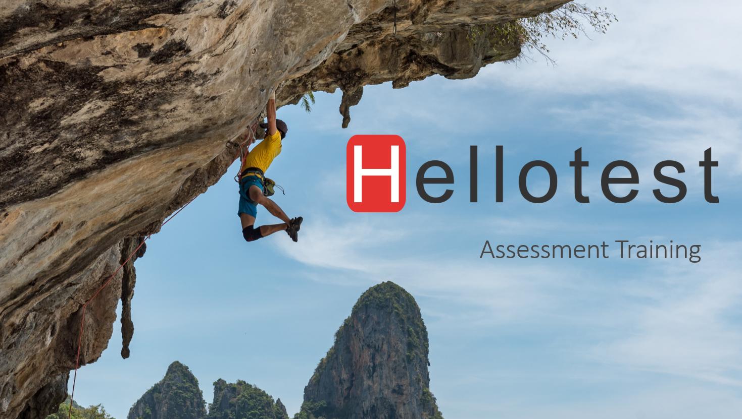 Assessment Training door Hellotest