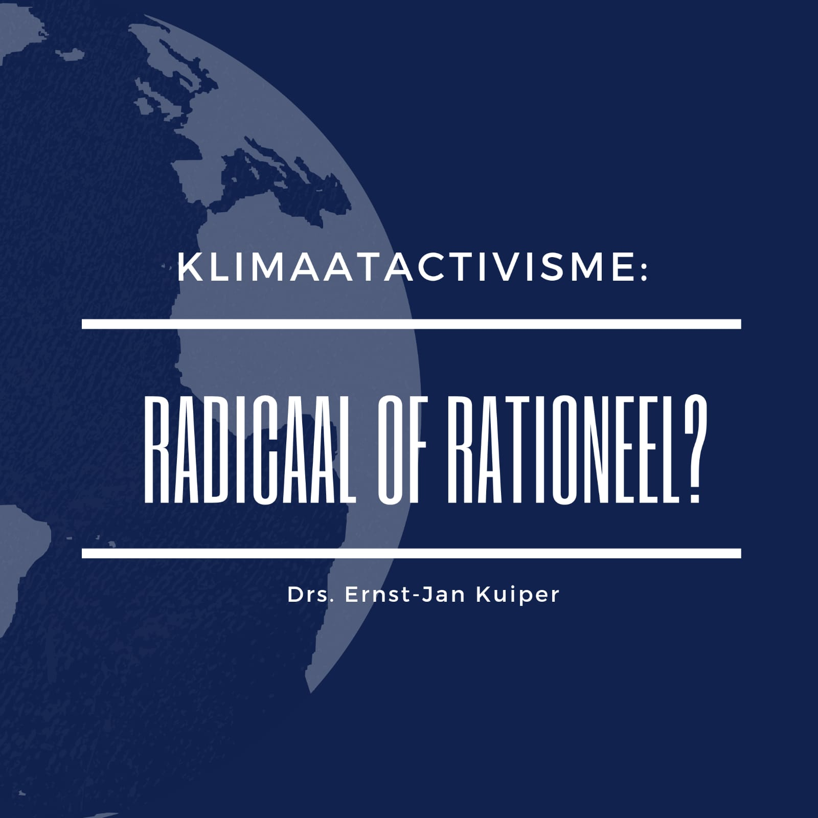 Klimaatactivisme: radicaal of rationeel?