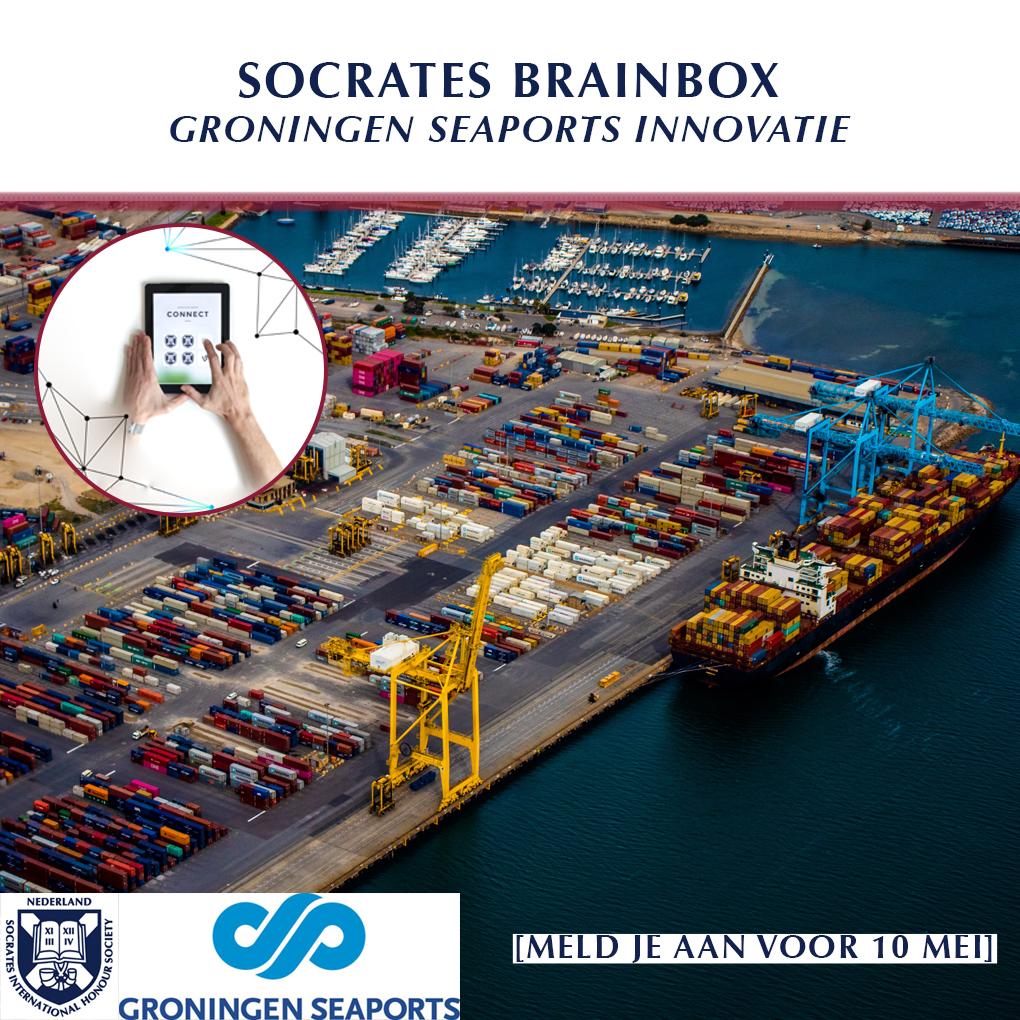 Brainbox met iTanks en Groningen Seaports