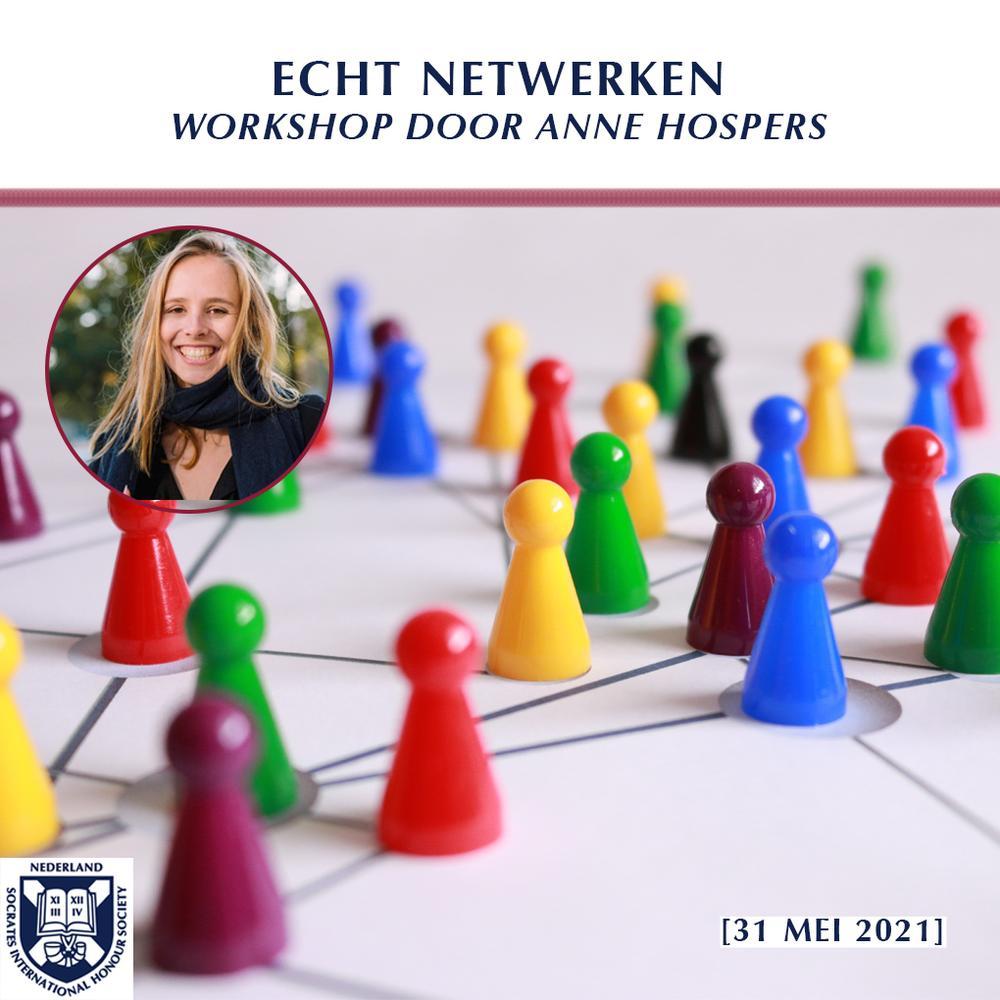 Echt netwerken met Anne Hospers
