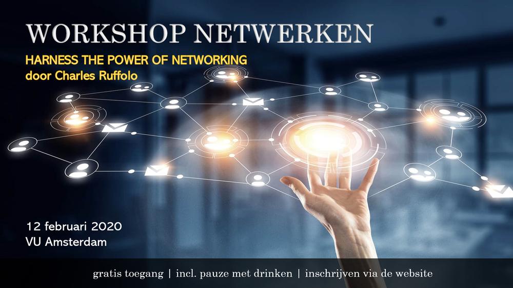 Amsterdam: Workshop Netwerken