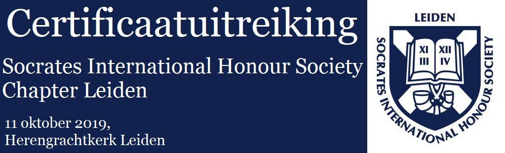 Certificaatuitreiking: Leiden